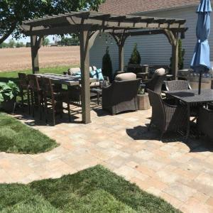 Hessit Works Inc - Concrete Pavers - Roman Riverrock Diet