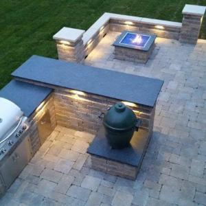 Hessit Works Inc. - Tumbled Pavers - Roman Tumb application 2
