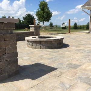 Hessit Works Inc. - Tumbled Pavers - Roman Tumb application 3