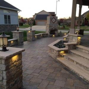Hessit Works Inc. - Tumbled Pavers - Roman Tumb application 4