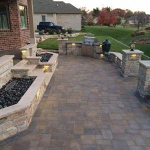 Hessit Works Inc. - Tumbled Pavers - Roman Tumb application 5