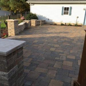 Hessit Works Inc. - Tumbled Pavers - Roman Tumb application 8